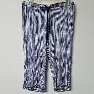 ☀️SALE☀ Simply Vera Vera Wang stripe pajama pant S